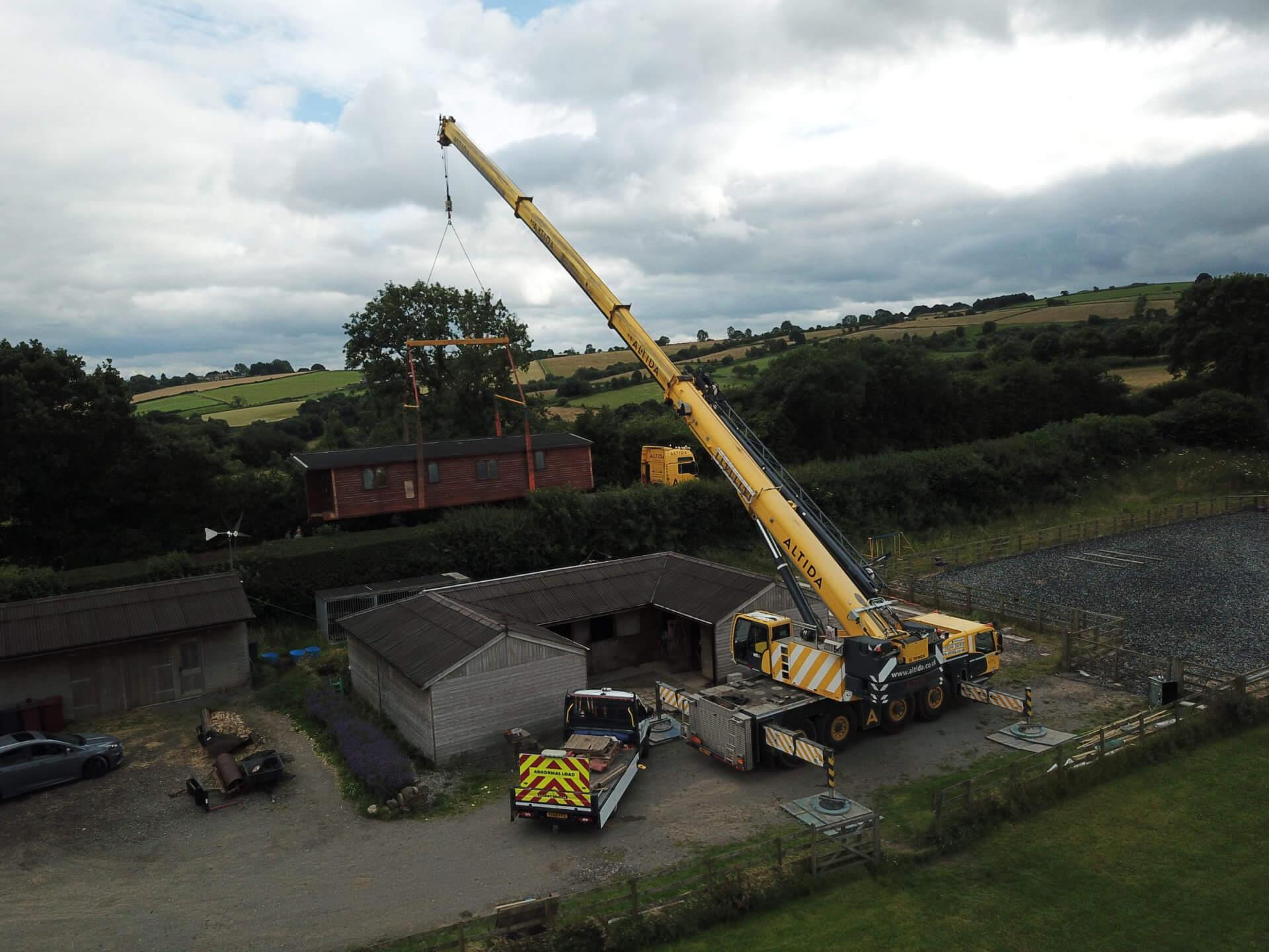 Mobile Crane Hire Altida