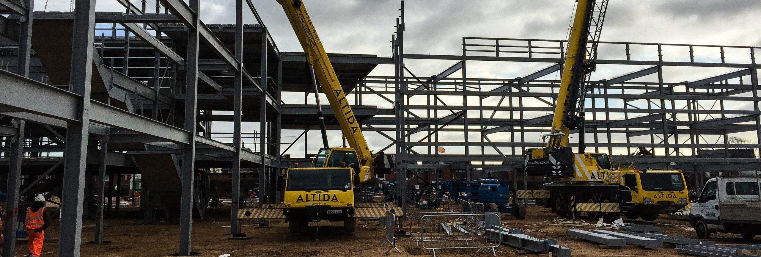 40T tower crane hire