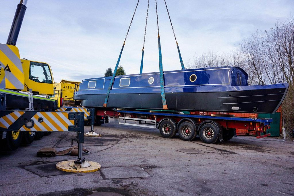 2. Terex AC 140 Tonne 18 Tonne Boat Lift with 15 Meters Radius of Boom Reach Required