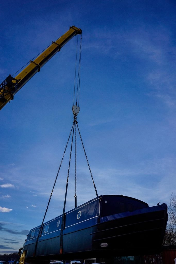 3. Terex AC 140 Tonne 18 Tonne Boat Lift with 15 Meters Radius of Boom Reach Required