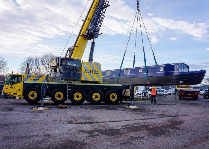 140t mobile crane