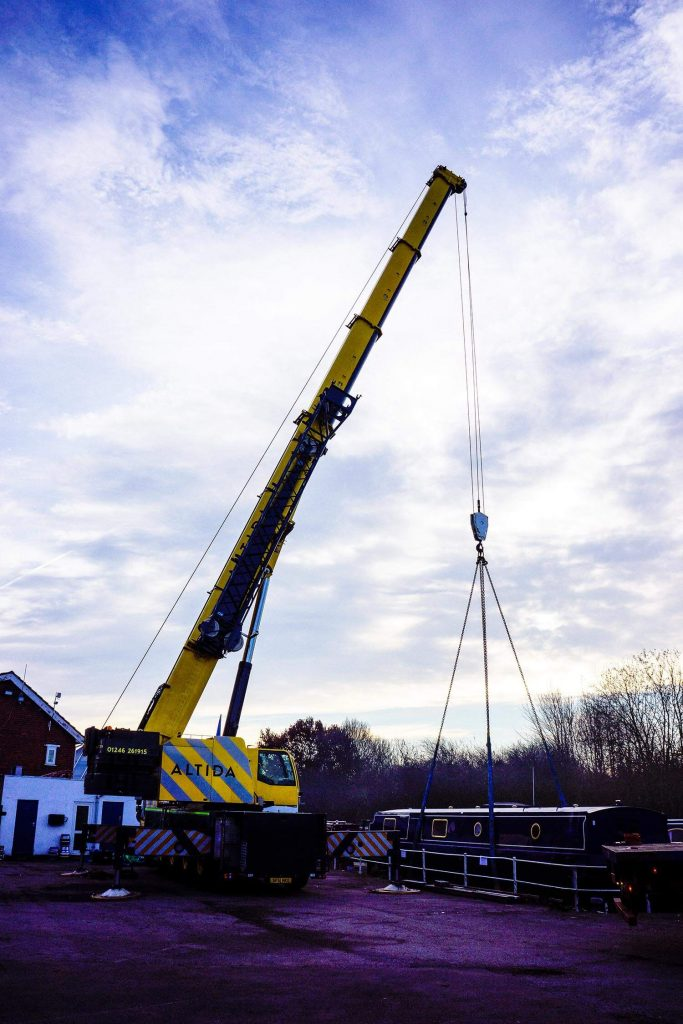 5. Terex AC 140 Tonne 18 Tonne Boat Lift with 15 Meters Radius of Boom Reach Required