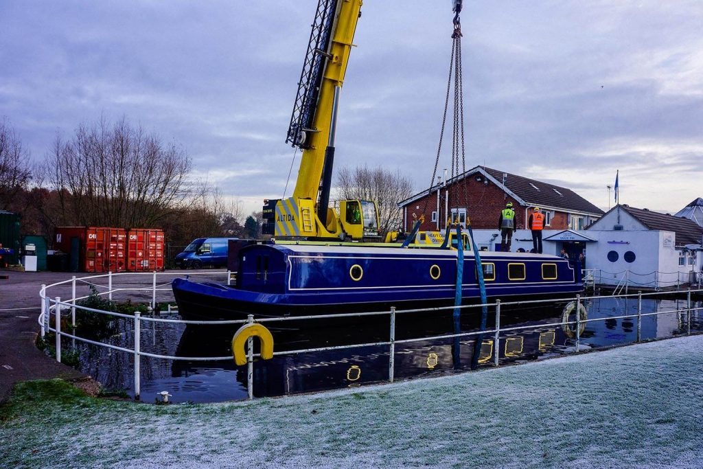 6. Terex AC 140 Tonne 18 Tonne Boat Lift with 15 Meters Radius of Boom Reach Required
