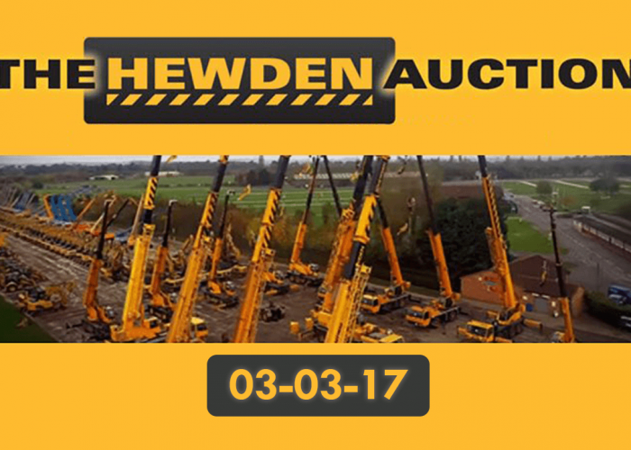 Altida Buys Cranes From The Hewden Mobile Crane Auction