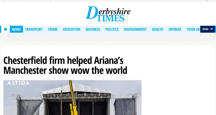 Altida Derbyshire Times News