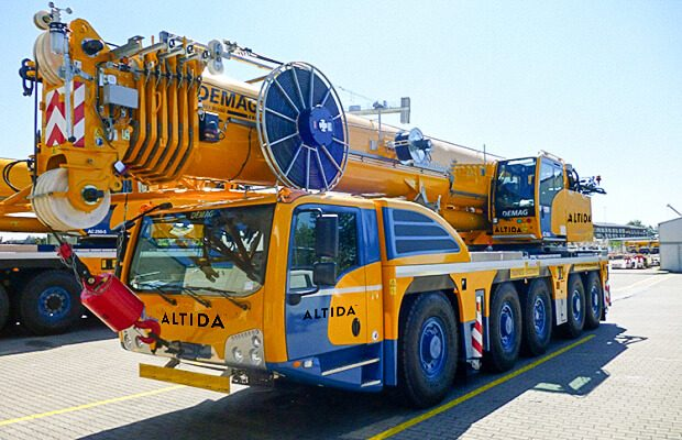 Demag AC 160 5 Mobile Crane for Hire 1
