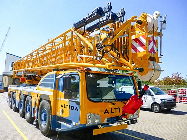 Demag AC 160 5 Mobile Crane for Hire 2