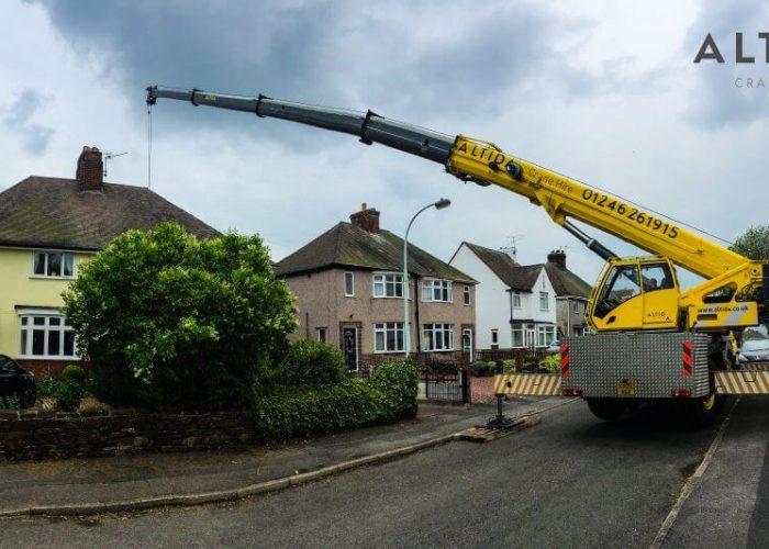 mobile telescopic crane