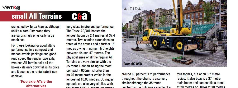 Vertikal Magazine July 2017 Altida Page 20 News Page