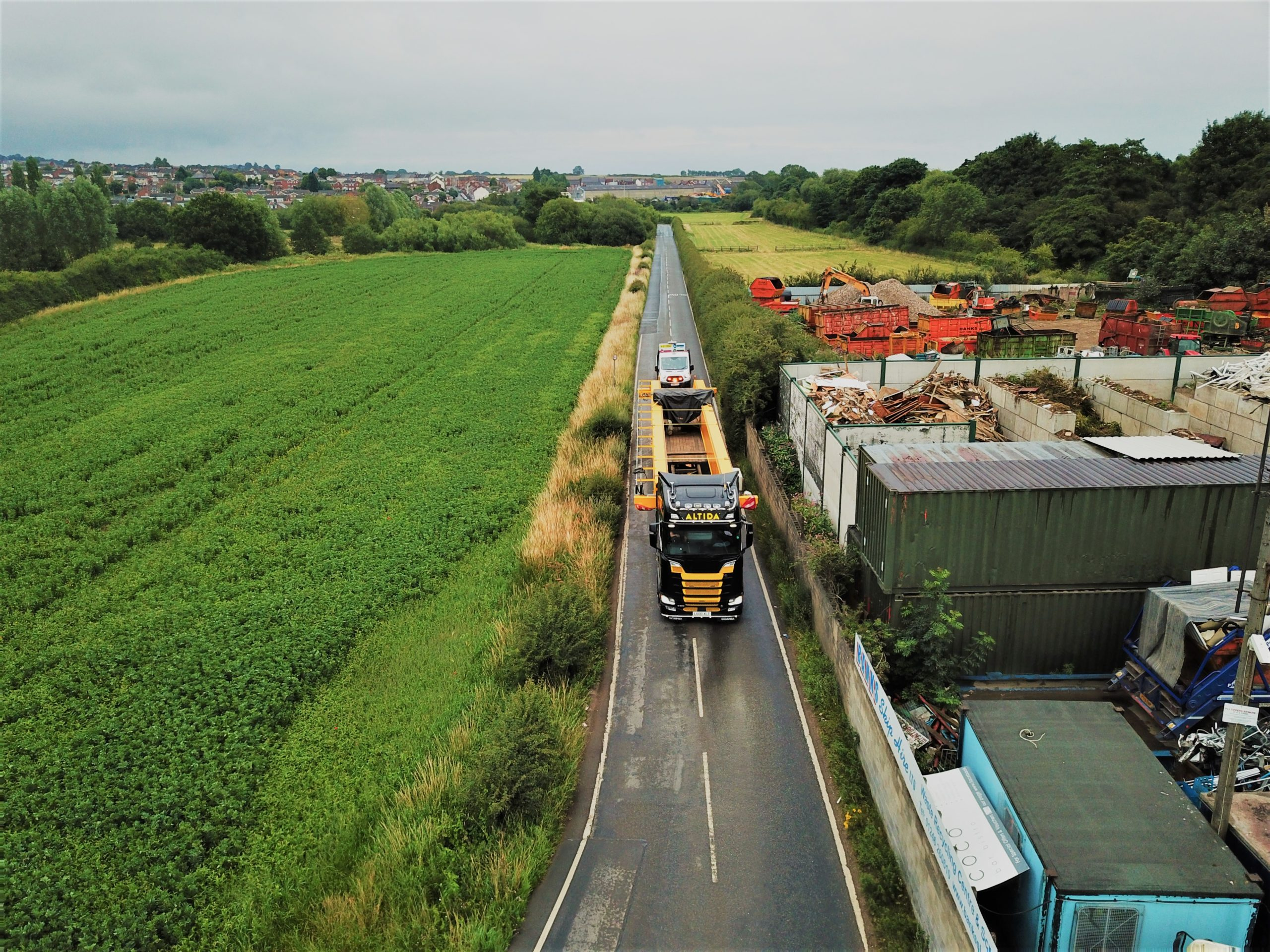 abnormal load transport